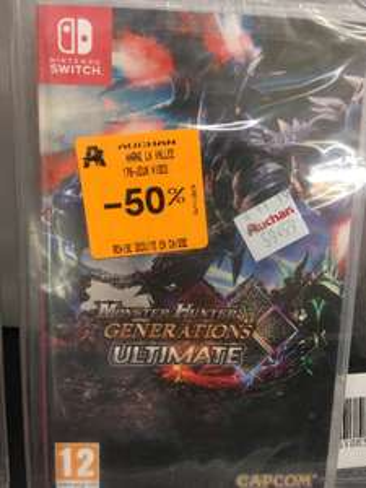 Sélection de jeux vidéo en promotion - Ex : Monster Hunter Generations Ultimate (Auchan val d'Europe 77)