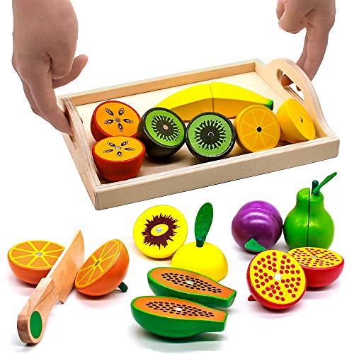 Jouet Fruits à Découper en bois (vendeur tiers)