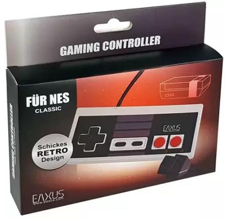Manette filaire Eaxus compatible Nintendo NES