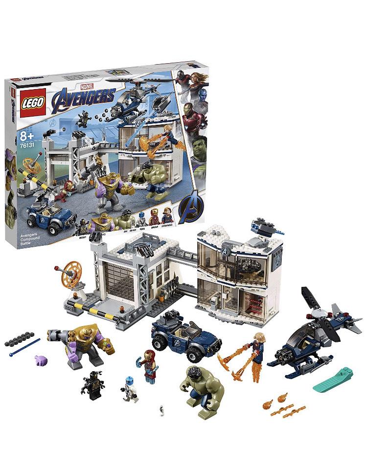 Jouet Lego Marvel Super Heroes - L'attaque du QG des Avengers (76131)