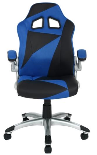 Fauteuil de bureau Duo - Bleu et noir