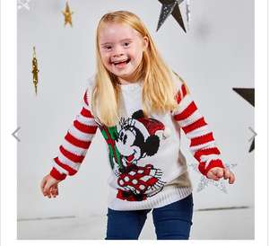 Pull de Noël Disney Minnie Holiday Cheer pour Enfants - Taille 4 Ans