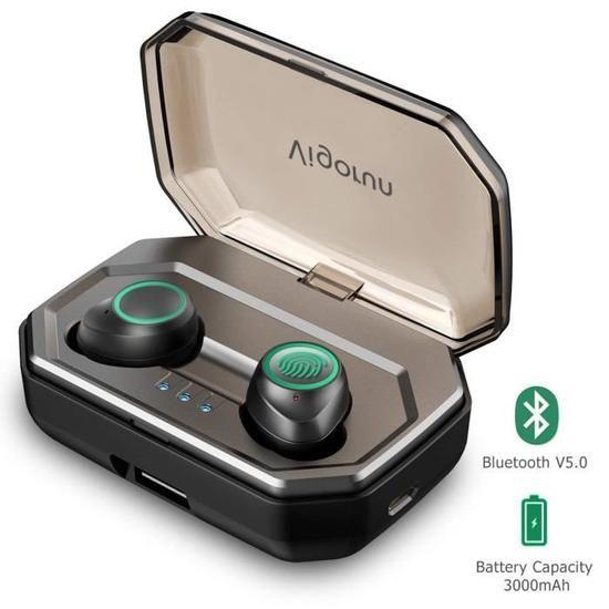 Écouteurs sans Fil Vigorun X9 Plus - 3000mAh Etui de Charge Autonomie 100H (vendeur tiers)