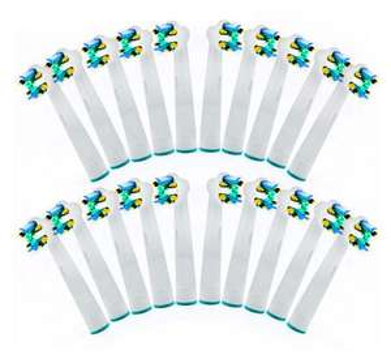 Pack de 20 Brossettes compatibles Oral-B - Plusieurs modèles