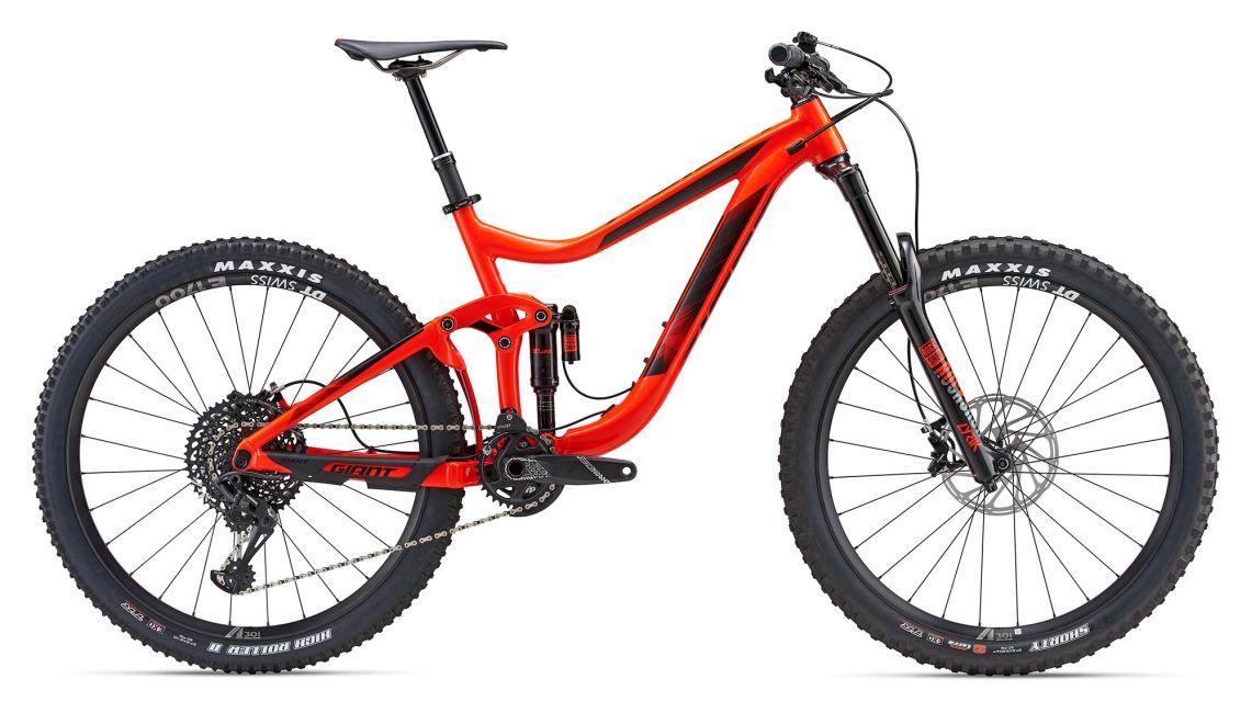 Vélo VTT tout suspendu Giant Reign 1 - 2018 - Taille M (giant-bicycles.com)