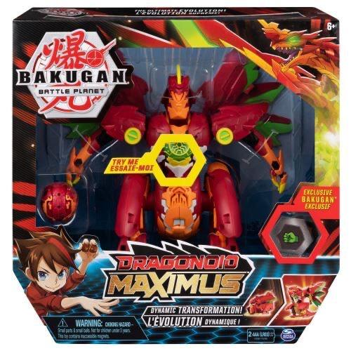 Jouet Bakugan : Dragonoid Maximus