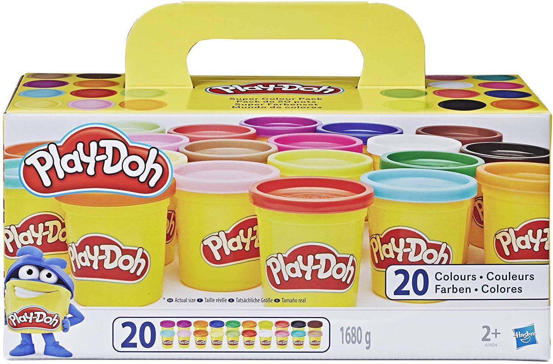 Pâte à modeler Play-Doh - 20 pots de 84 g (Via Coupon)