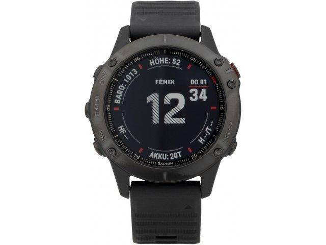 Montre GPS Garmin fenix 6 Pro - 47mm, Noir