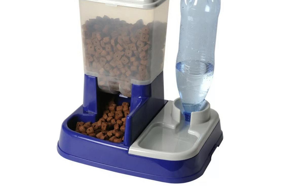 Distributeur eau et croquettes automatique pour chien et chat (frais de port inclus - vendeur tiers)