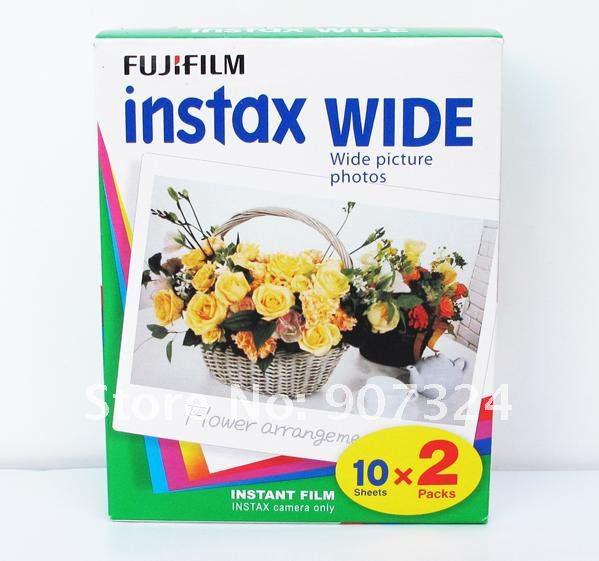 Films Instax Wide (3 Double Pack - 60 Films)