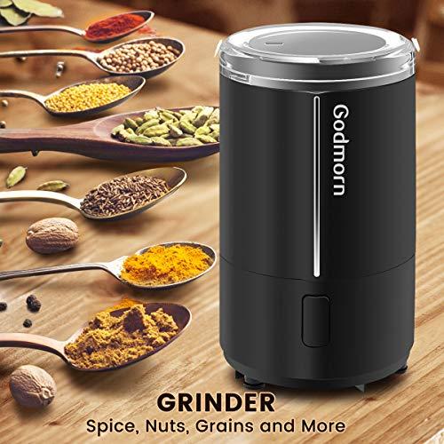 Moulin à café électrique Godmorn - 150 W (Vendeur tiers)