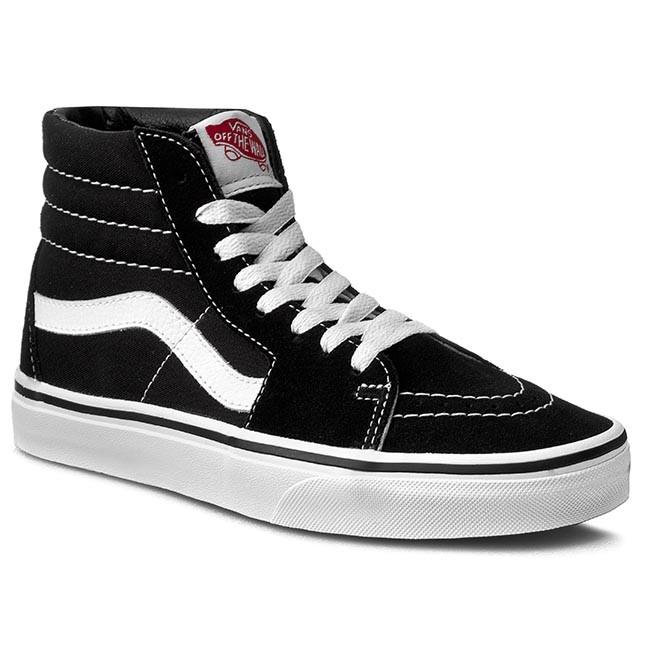 Sneakers Vans Sk8-Hi VN000D5IB8C - Noir/Blanc, Taille au Choix (chaussures.fr)