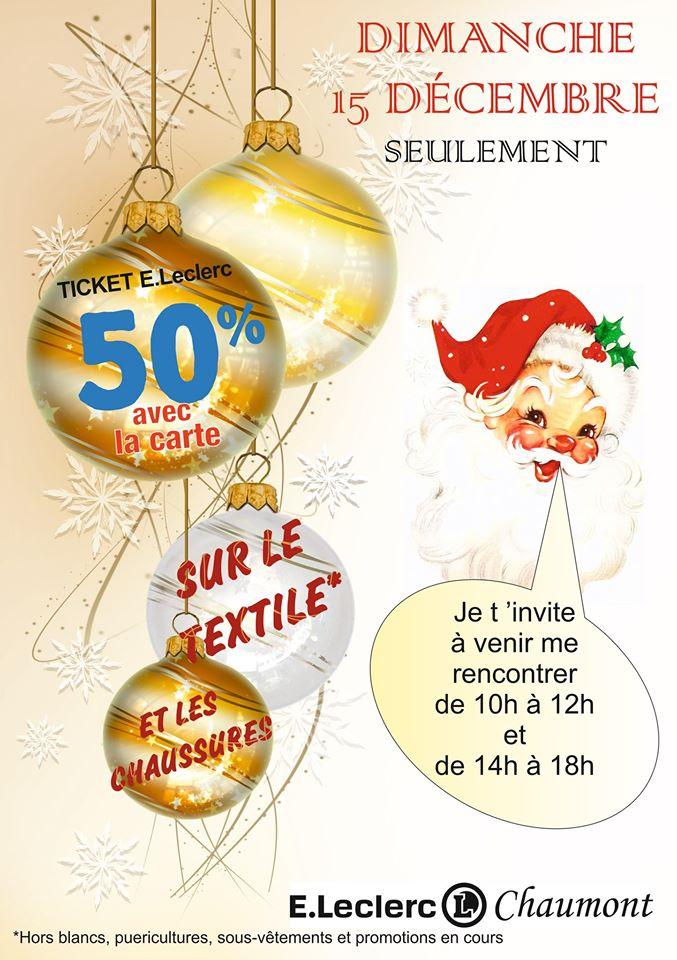 50% de réduction en avantage carte sur le textile et chaussures (Chaumont 52)
