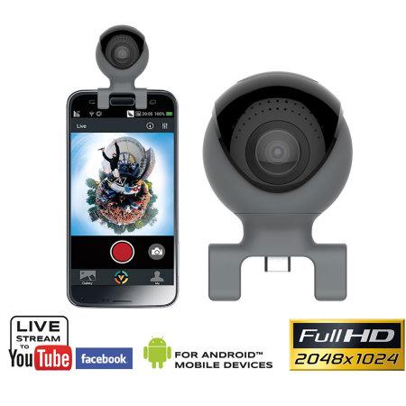 Caméra Easypix GoXtreme Omni 360° pour smartphones - USB/USB-C