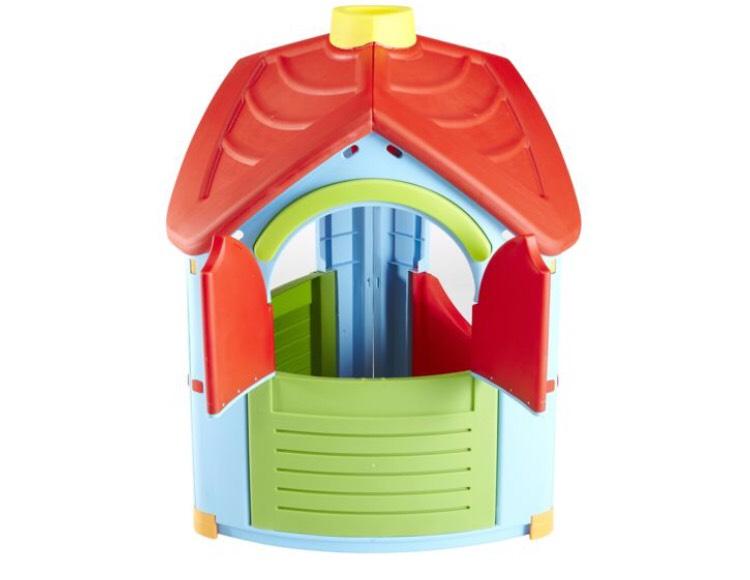 Jouet Palplay Maisonnette plastique OD108541 - L 102 x l 95 x H 126 cm