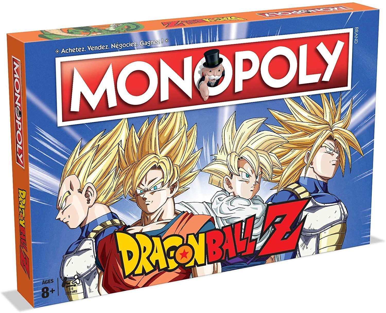 Jeu de société Monopoly Dragon Ball Z - Version française