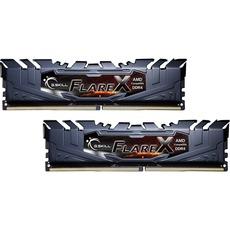 Kit Mémoire DDR4 G.Skill F4-3200C14D-16GFX 16Go (2 x 8Go) - 3200Mhz, CAS14