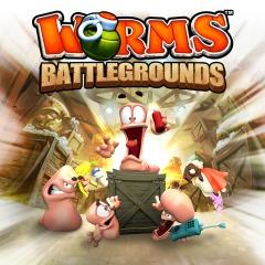 Worms Battlegrounds sur PS4 (Dématéralisé)