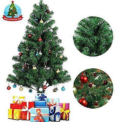 Sapin de Noël Artificiel Uten - Matière PVC, Socle en Métal et Support en Métal Détachable, 180cm (vendeur tiers)