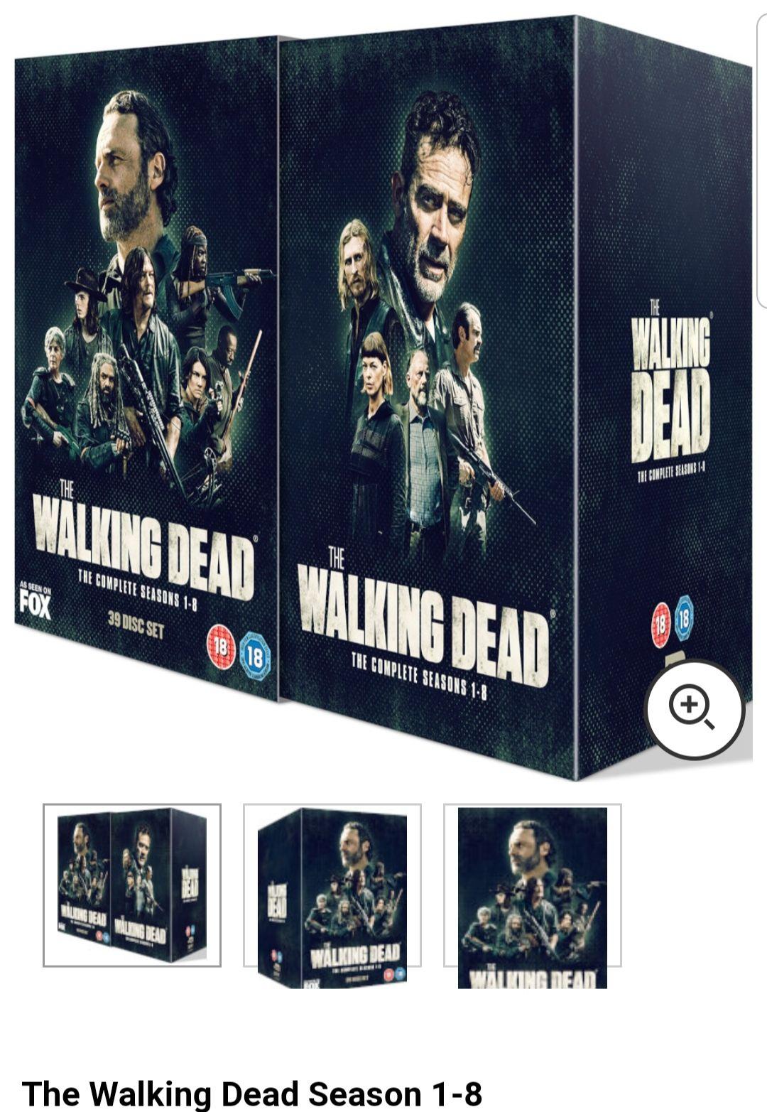Coffret DVD The Walking Dead - Saison 1 à 8 en VO