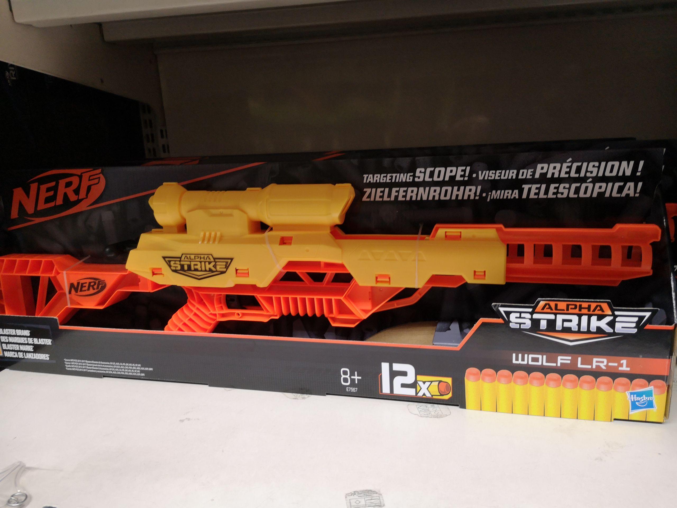Pistolet Nerf alpha strike Wolf r1 (Via 2,50€ sur la carte Auchan) - La Défense (92)