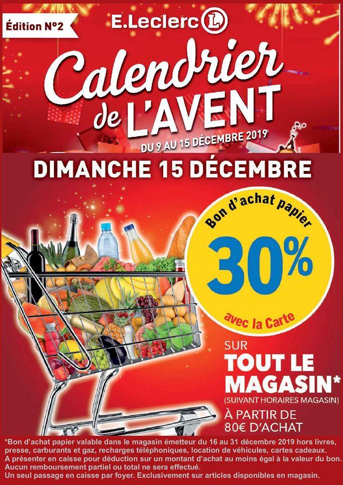 30% remboursés en bon d'achat sur tout le magasin dès 80€ d'achat - Soultz-sous-Forêts (67)