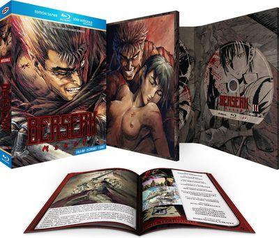 Sélection de coffrets Saphir en promotion - Ex : Coffret Blu-ray Berserk - Intégrale