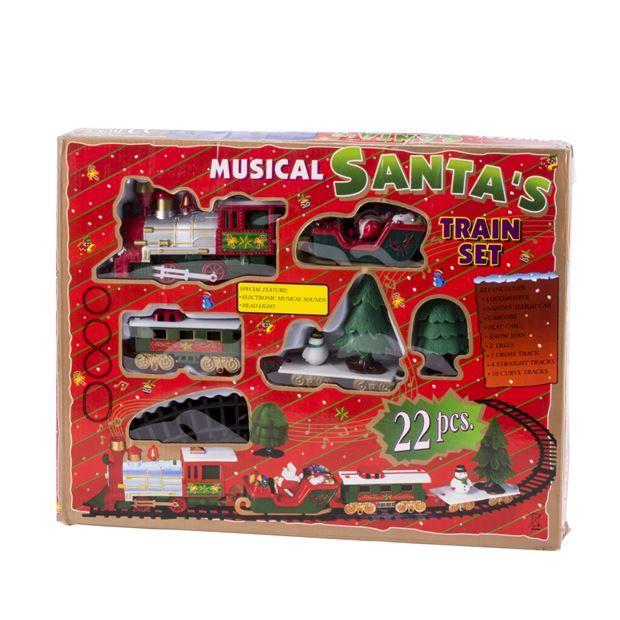 Train set - Musical Santa's (Via retrait magasin)