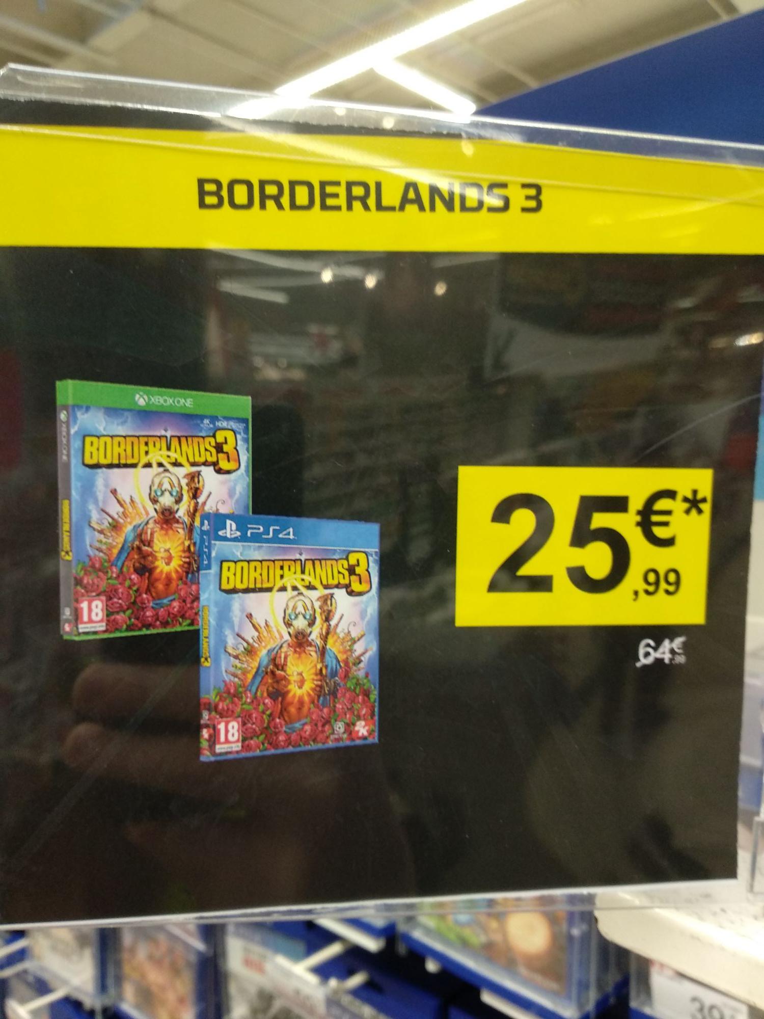 Borderlands 3 sur PS4 / Xbox One