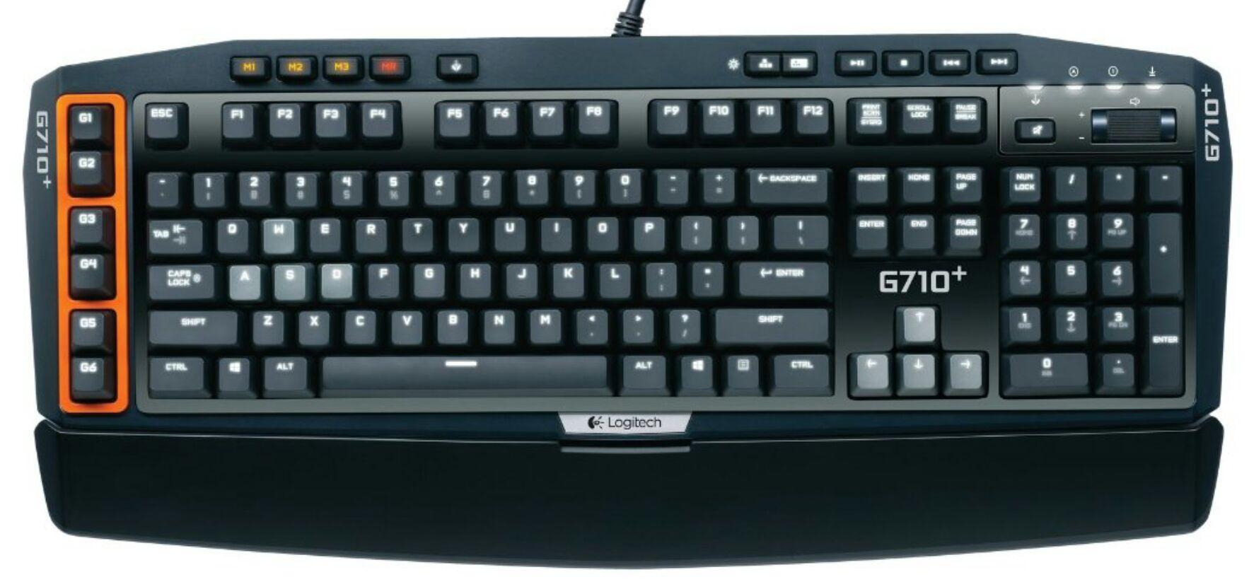 Clavier mécanique Logitech G710+