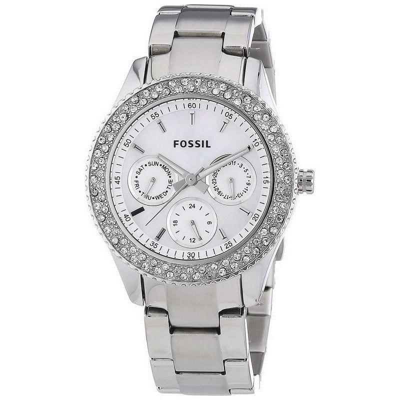 Montre quartz Fossil Stella ES2860 Multifonction pour Femme
