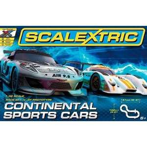 Circuit Scalextric Continental Sports Cars SCA1319P