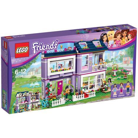 Lego Friends 41095 La maison d'Emma (avec 30€ sur la carte)