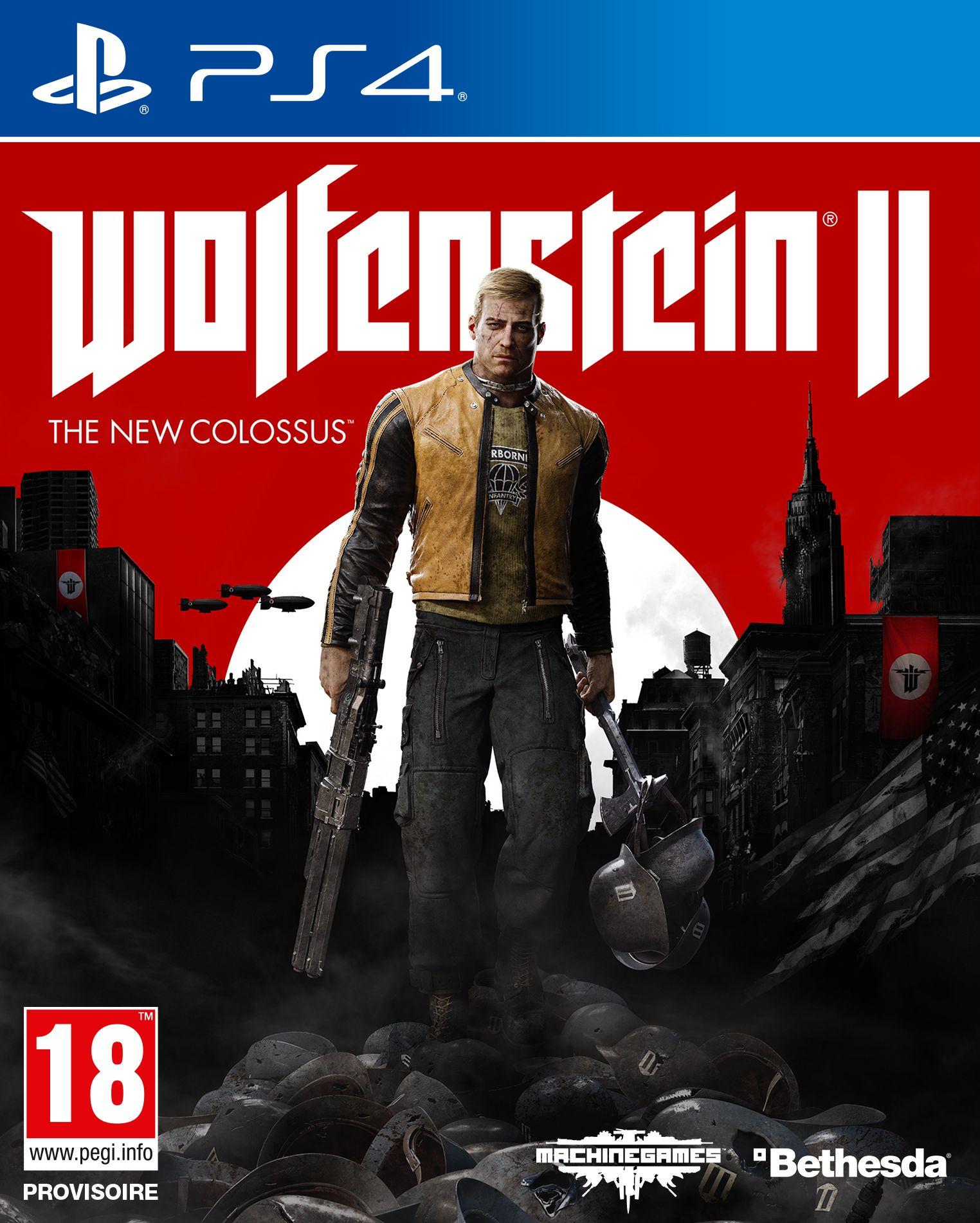 Wolfenstein II : The New Colossus sur PS4