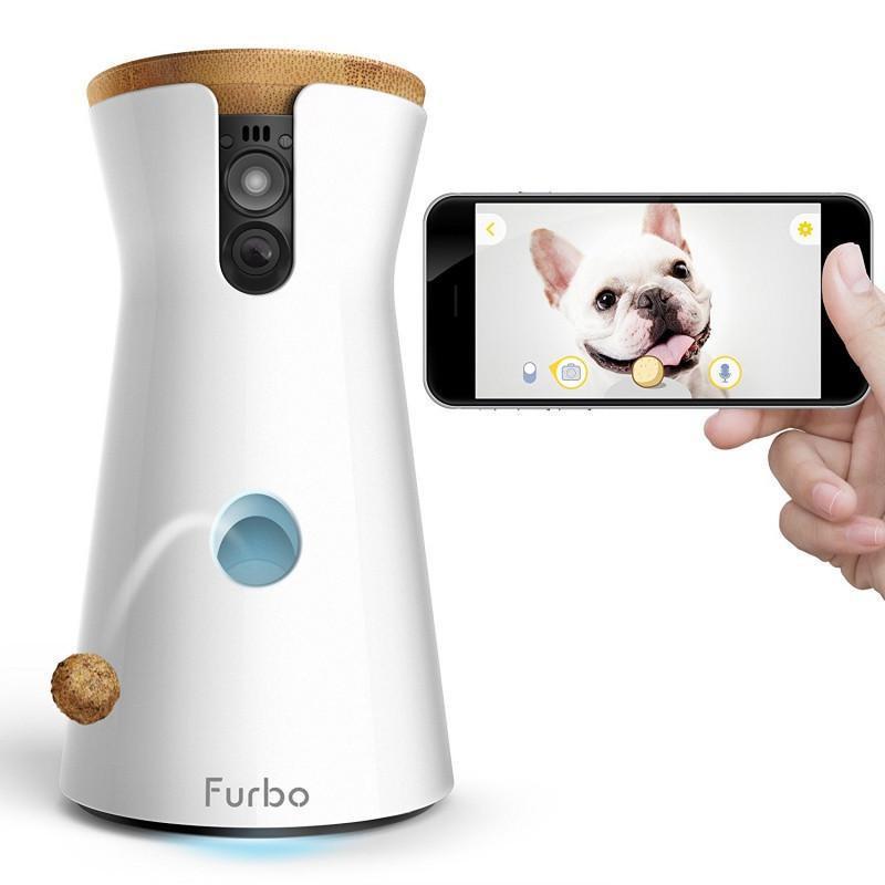 Caméra de surveillance pour chien avec distributeur de croquettes Furbo Dog Camera (furbo.com)
