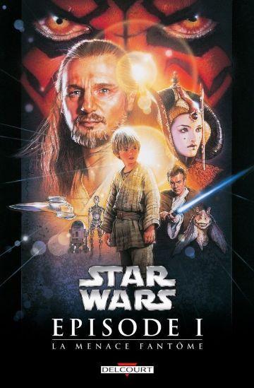 BD Star Wars - Épisodes I à VI en promotion, version numérique - Ex : Star Wars Épisode I : La Menace fantôme