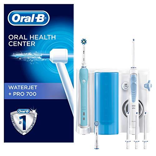 Hydropulseur Oral-B P1 via ODR- Brosse à dents électrique + Chargeur + 4 Canules WaterJet + 2 Brossettes