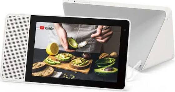 Enceinte à commande vocale Lenovo Smart Display 8 (89.99€ via Google Shopping avec FETES2019 pour les nouveaux clients)