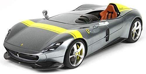 Voiture Miniature de Collection Ferrari BBR P18164A - Argent/Jaune