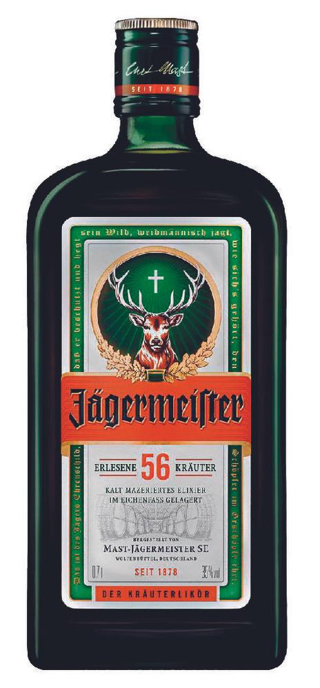 Liqueur à base de plantes Jagermeister - 70cl