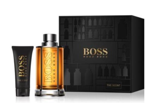 Coffret eau de toilette Hugo Boss The Scent (200 ml) + baume après-rasage (75 ml)