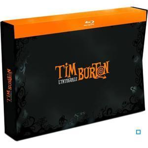 Coffret Blu-ray/DVD : Intégrale 18 Films de Tim Burton