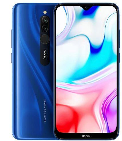 """Smartphone 6.2"""" Xiaomi Redmi 8 - 32Go, 3Go de Ram, Saphire Blue"""