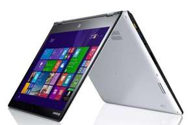 "PC portable tactile 14"" Lenovo Yoga 3 14 (i5-5200U 2.2 Ghz, 8 Go RAM, SSD 256 Go) - Blanc"