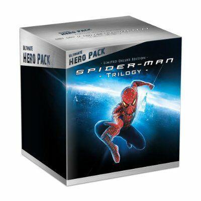 Coffret Blu-ray Trilogie Spiderman - Edition collector avec figurine Venom