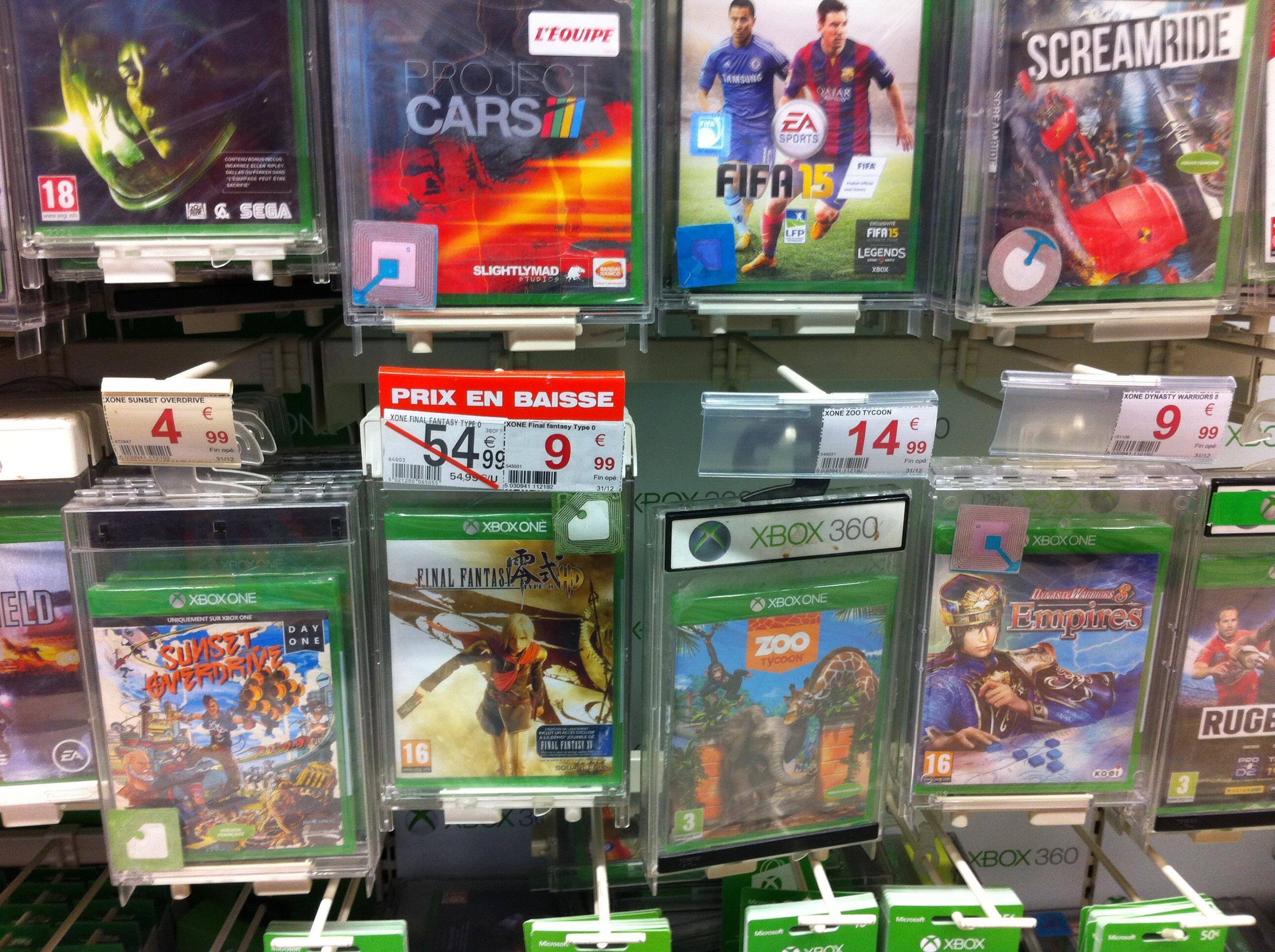Sélection de jeux Xbox One en promo - Ex : Sunset Overdrive Xbox one