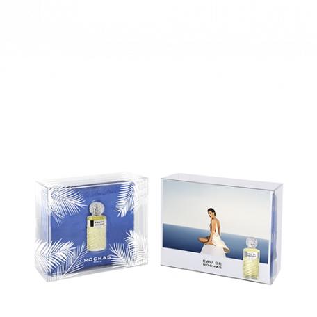 Coffret Eau de toilette pour Femme Eau de Rochas - Vaporisateur 100 ml + Fouta