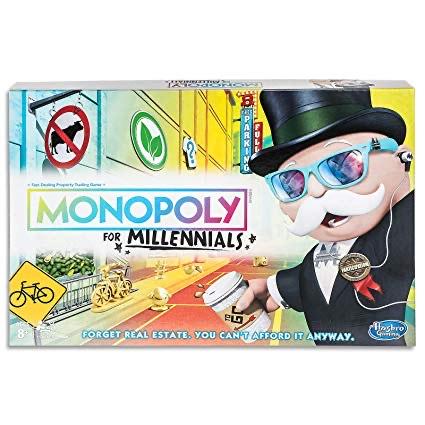 Jeu de société Monopoly Millennials