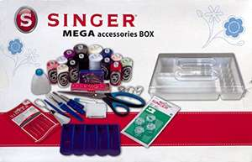 Kit d'Accessoires Complet pour Couture Singer Megabox