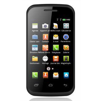 "Smartphone dual-sim Polaroid PROG40C 4"" - 16 Go Noir"